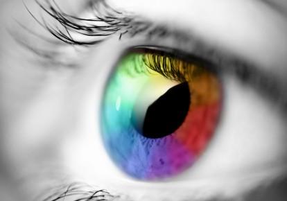 Coloured Eye