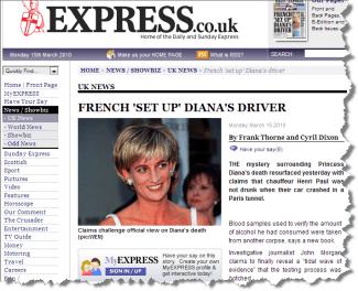 Was Princess Diana killed?