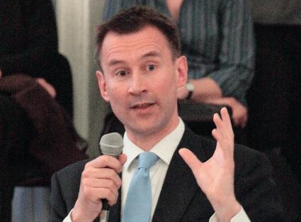 Jeremy Hunt, the Culture Secretary