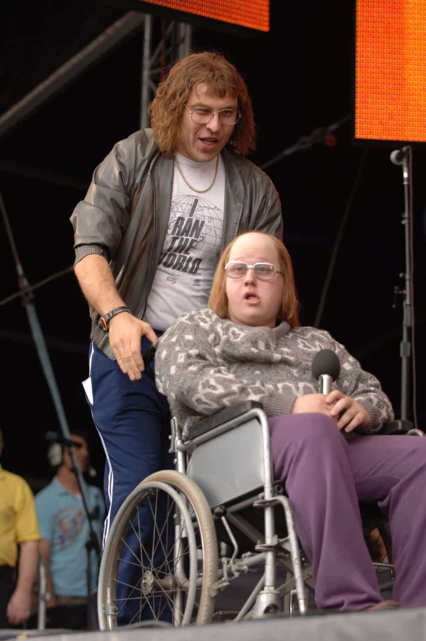 David Walliams with his on-screen partner Matt Lucas; did they influence each other's choice of off-screen partner? Pic courtesy: http://www.flickr.com/photos/admiralty