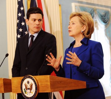 Will Mrs Clinton rescue David Miliband?