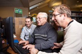 Older website users find distractions more difficult to cope with