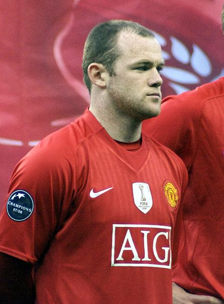 Wayne Rooney is suffering from semantic clustering today