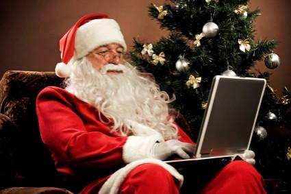 Does Santa use Google?