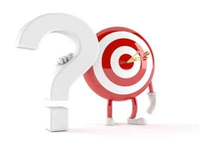 A question is better than a target if you want to succeed online