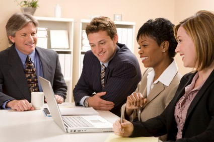 Working in a team will improve your website content