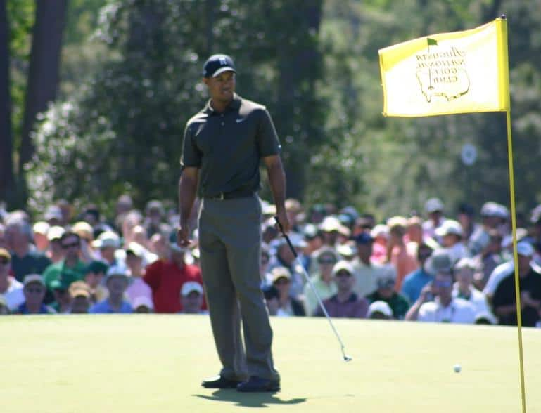 The way Tiger Woods practises golf could be a lesson to online business owners