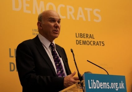 Vince Cable tells the truth