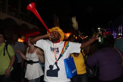Would you like the Vuvizela sent back...?