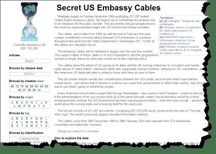 Wikileaks will get more leaks