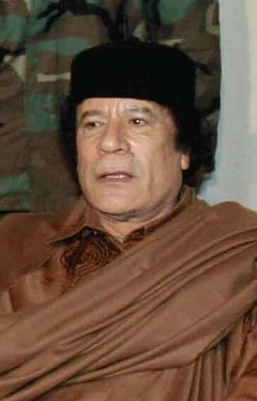 David Cameron is appalled at what Colonel Gaddafi has been doing in Libya.