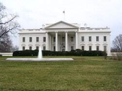 The Whitehouse as an example of web page graphics