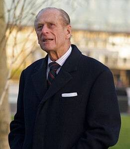 HRH Prince Philip Duke of Edniburgh 90 Today: By Flickr user Steve Punter derivative work: Andibrunt via Wikimedia Commons