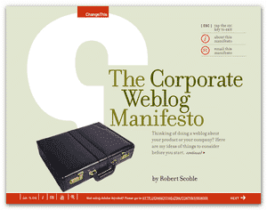 Corporate Blogging Report