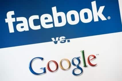 Facebook and Google Page Headings