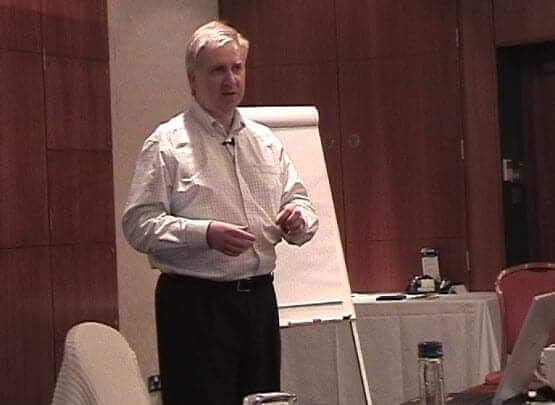 Graham Jones at a CEO Seminar