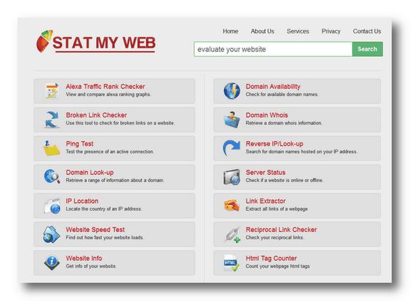 Stat My Web