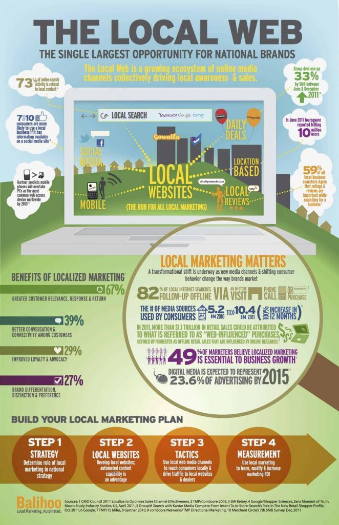 Local Web Infographic