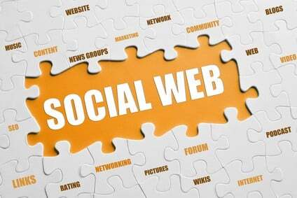 The puzzle of the social web