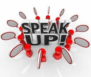 Will people speak up in social networks?