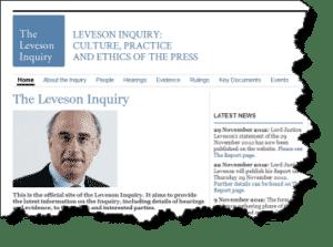 Leveson Inquiry Report