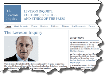 Leveson Inquiry Report