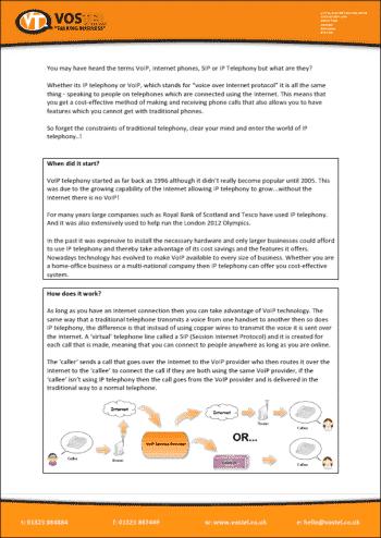 IP Telephony report
