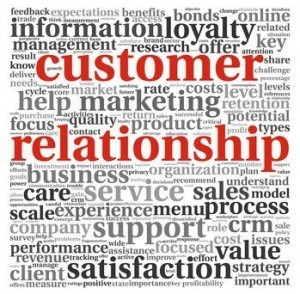 Customer relationships are vital