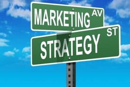 Marketing Strategy signpost