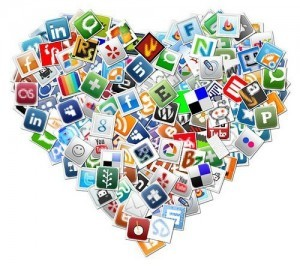 The heart of social media