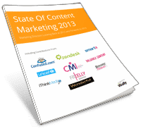 State of Content Marketing 2013