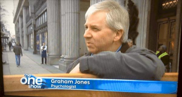 Graham Jones, Internet Psychologist on BBC TV The One Show