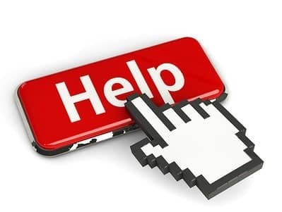 Keyboard Help Button