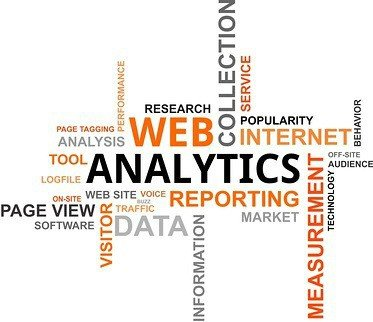 Word cloud web analytics