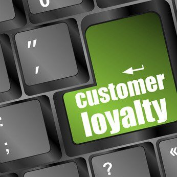 Customer Loyalty key on keyboard
