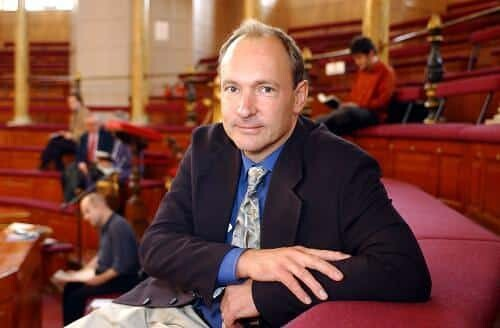 Sir Tim Berners-Lee, inventor of the World Wide Web, founder of the World Wide Web Foundation and World Wide Web Consortium.