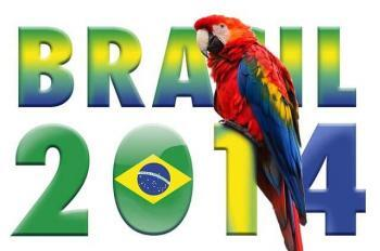 Brazil World Cup 2014 Logo Effect