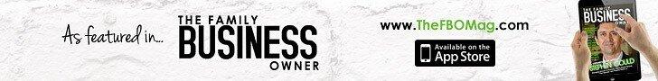 Family Business Owner Magazine Advert Banner