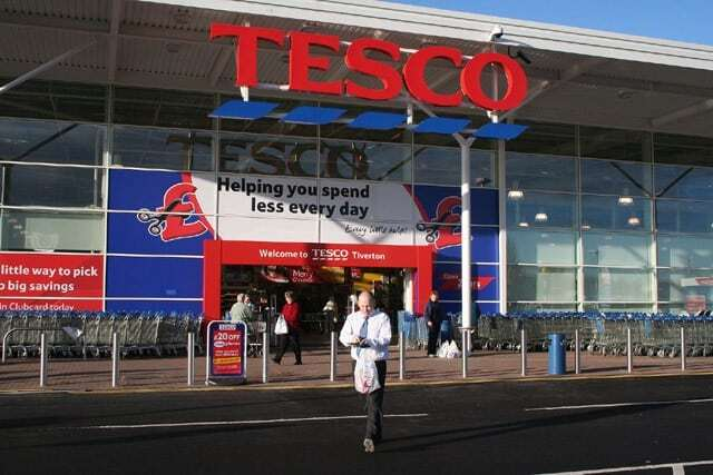 Tesco - Picture by Martin Bodman