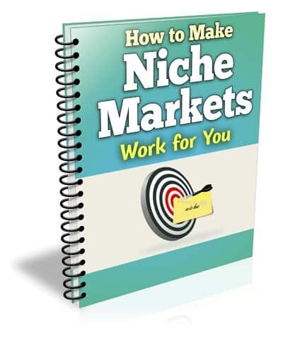 Niche Markets book cover