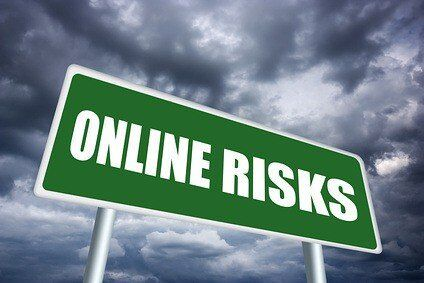 Online risk sign
