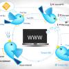 Twitter bird logos
