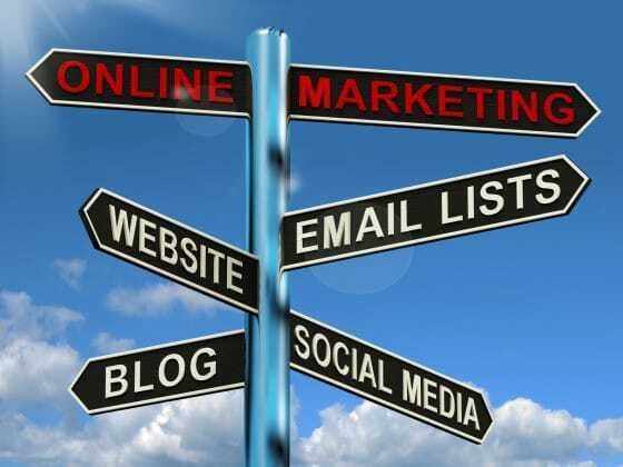 Online Marketing Signpost