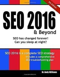 SEO2016 Book Cover