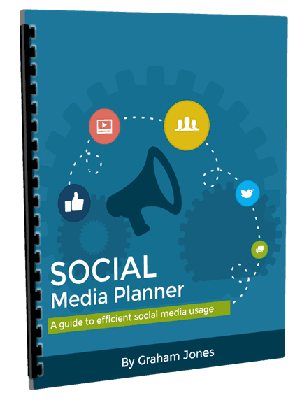 Social Media Planner Booklet Cover