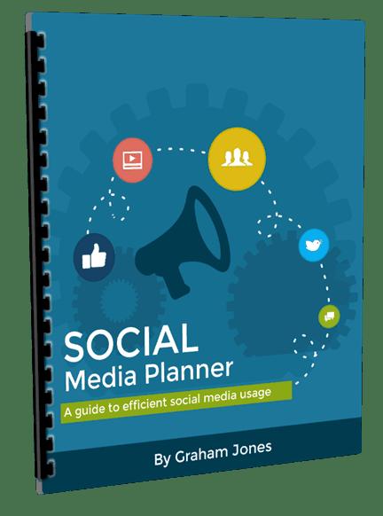 Social Media Planner Booklet Cover