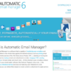 Automatic Email Manager Website