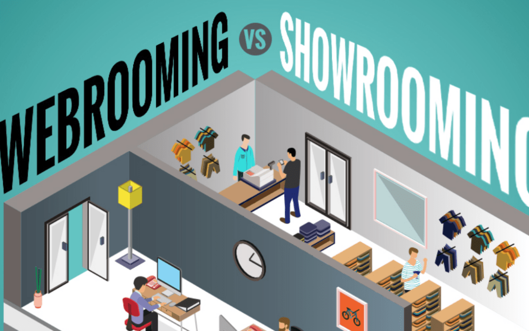Webrooming vs Showrooming – modern trends in online retail