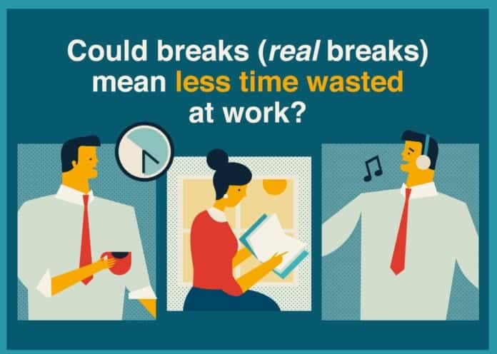 Could a real break from work boost productivity?