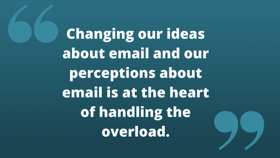 Change email percpetions
